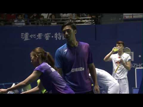 China Masters 2017 | Badminton F M4-XD | Liao/Chen vs Wang/Huang
