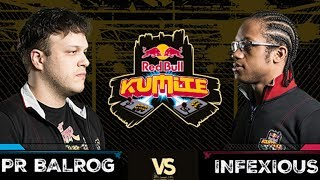 Red Bull Kumite 2017: PR Balrog vs Infexious | Losers Round 2