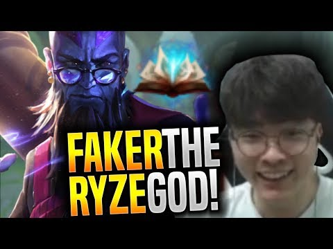Faker the Ryze GOD is Back for New Season! - SKT T1 Faker SoloQ Playing Ryze Mid!   SKT T1 Replays