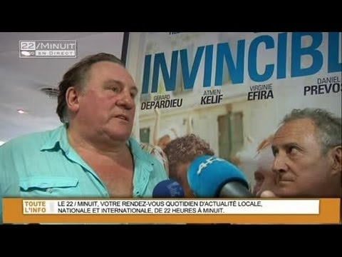 Les Invincibles : Gérard Depardieu à Marseille (Interview Exclu)