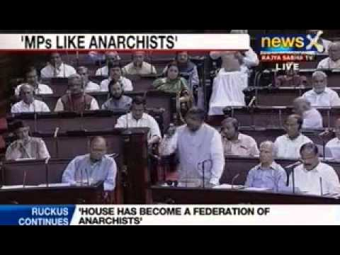 NewsX : BJP MPs want Hamid Ansari to withdraw 'anarchists' remark