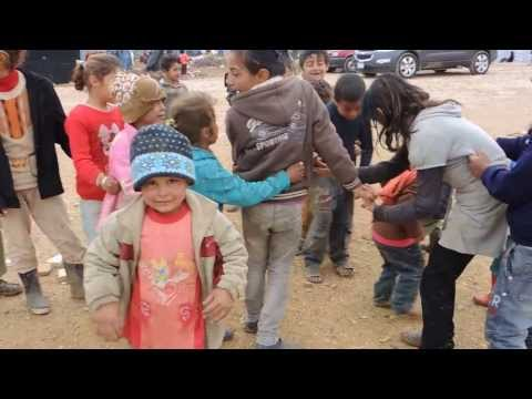 Syrian Camp in Lebanon January 2014