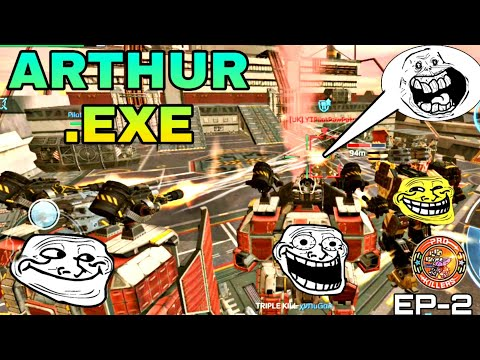 ARTHUR(THE TITAN).EXE 2.0  [WAR ROBOTS FUNNY VIDEO]