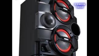 LG X-BOOM CM4540, CM9540 Y CM9940