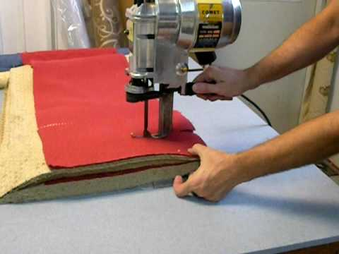 8 Quot Universal Comet Century Industrial Fabric Cutter Youtube