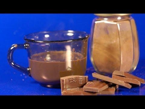 Forró csoki por készítése