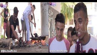 شباب كايخدمو فعيد الأضحى:كانشوطو الريوس ديال الحولي فهاذ العيد باش نتعاونو كايحكرونا و يعطيونا 10الدراهم ( فيديو) |