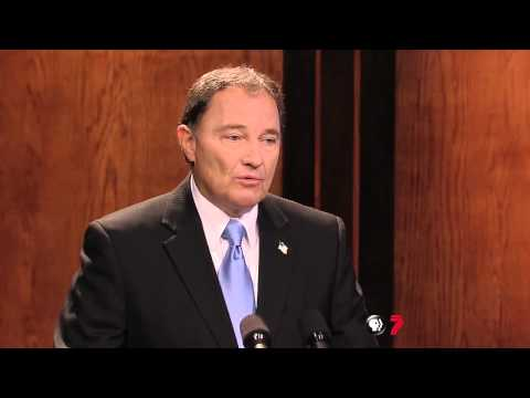 Governor Herbert Speaks to Utah Firefighters
