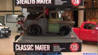 Disney Cars Ridemakerz Mater, Sally Custom Lightning