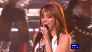 Miley Cyrus - Fly On The Wall (live)