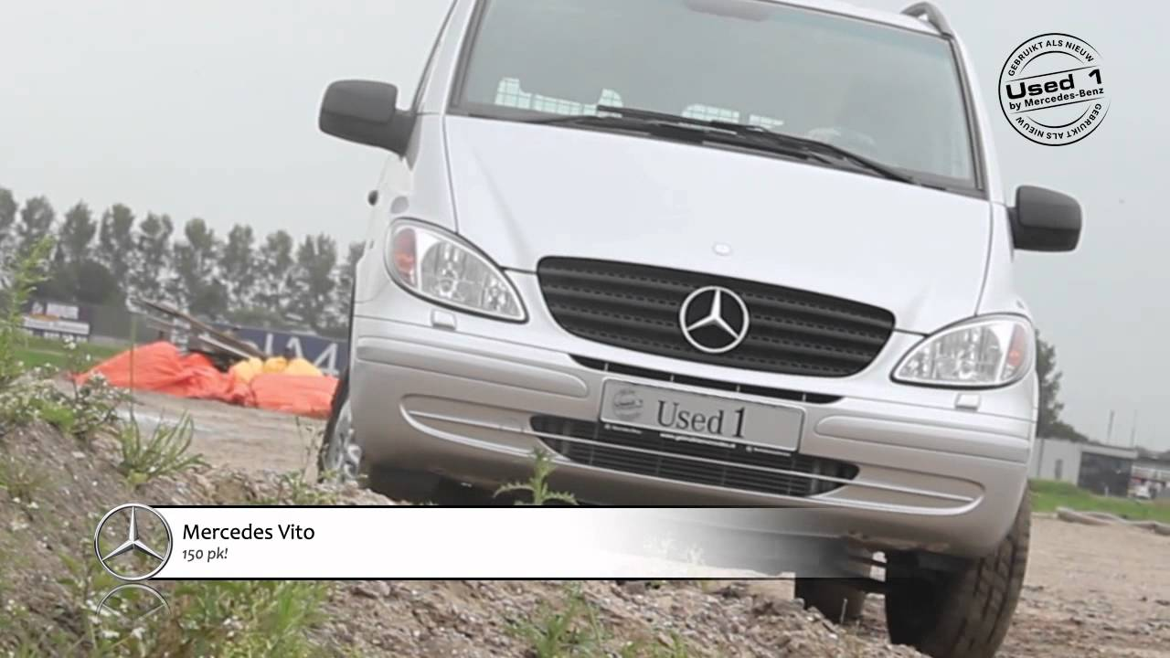 mercedes benz vito 4x4 youtube. Black Bedroom Furniture Sets. Home Design Ideas