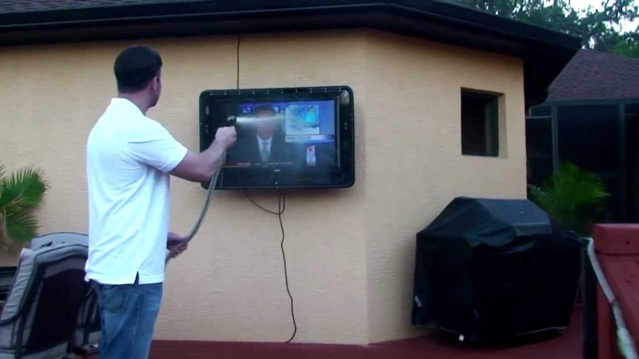 Water Proof Outdoor Tv Cabinet Enclosure Case The Tv