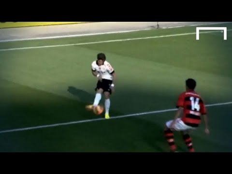 Great finish from a very tight angle - Alexandre Pato