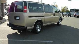 1999 CHEVROLET EXPRESS 1500 PASSENGER VAN STK# C129229A videos