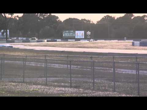 Mik Grenier & Sebastien Bourdais / Indycar / KV Racing Team @ Sebring (Sunset run)
