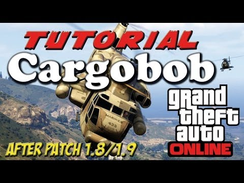 GTA V ONLINE - Tutorial Acquisto CARGOBOB PATCH 1.8/1.9 (How to Buy Cargobob After Patch 1.8/1.9)