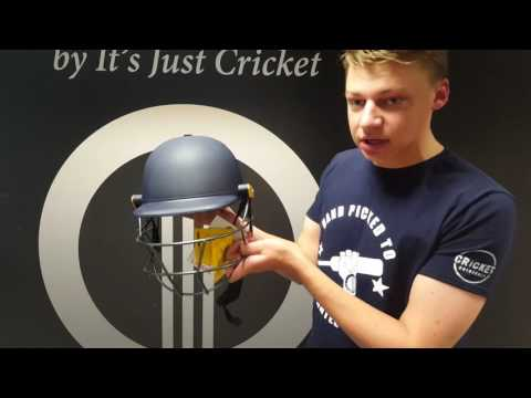 Masuri Legacy Senior Cricket Batting Helmet (Navy)