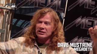 MEGADETH Dave Mustaine Interview