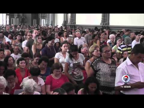 Abertura da Porta Santa na Catedral de Vitória - gravação TV Aribiri