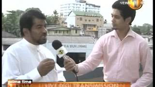 Newsfirst Prime time Sunrise Sirasa TV 6 15AM 24th June 2014
