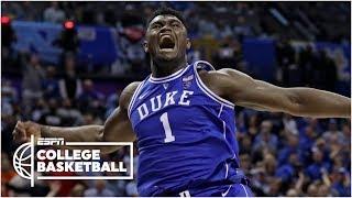 Zion Williamson scores 31 in Duke's win vs. North Carolina | College Basketball Highlights