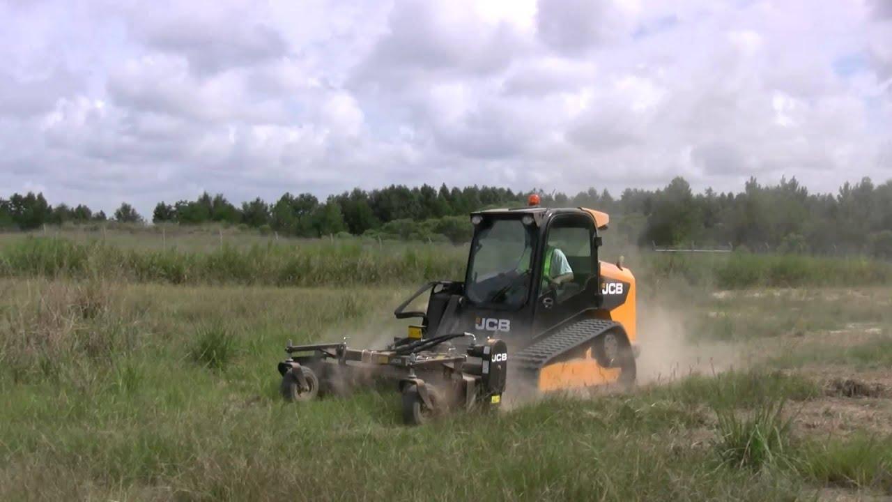 Landscaping Rake Skid Steer : Jcb skid steer landscape power rake attachment