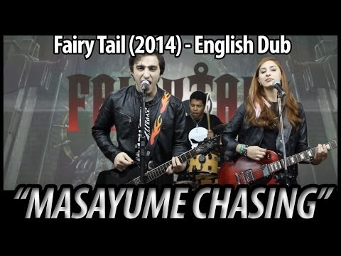 New Fairy Tail opening 'Masayume Chasing' dubbed in english by us. Hope you like it!,