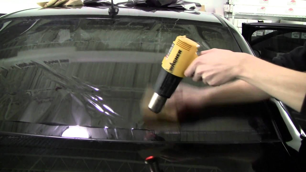 How To Tint A Back Window Youtube