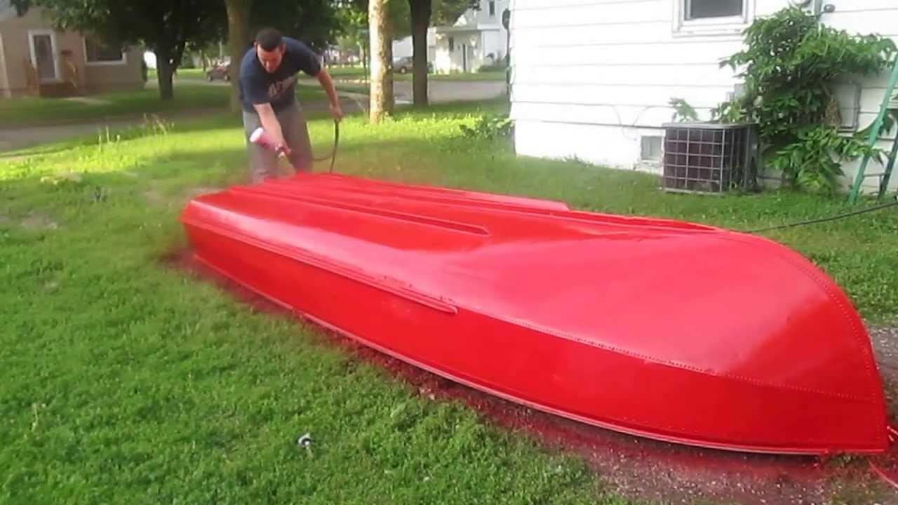 выбор краски для лодки