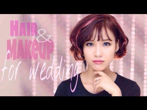 Những điều cần biết về tóc và trang điểm cho cô dâu ngày cưới [ Quách Ánh Makeup ]