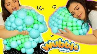 DIY GIANT MESH SLIME STRESS BALL! Super Cool Giant Stress Ball!