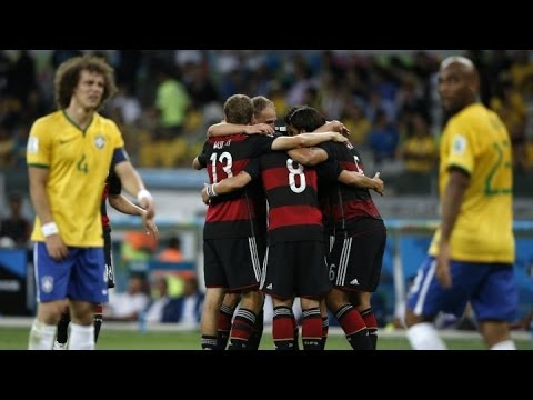 Mondial 2014 : une demi-finale tragique pour le Brésil, humilié par l'Allemagne