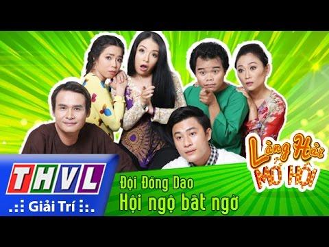 THVL | Làng hài mở hội - Tập 24: Hội ngộ bất ngờ - Đội Đồng Dao