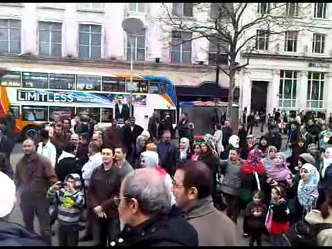 Kurdish people took part in protest demonstration against syrian regim  by S M