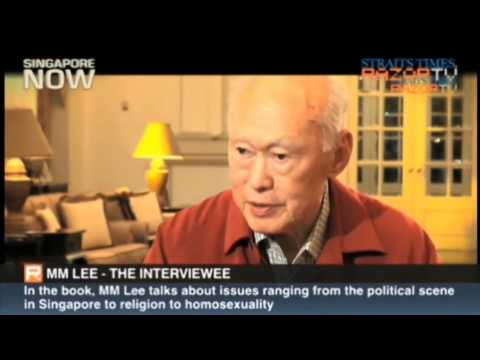 Straits Times asks Lee Kuan Yew about homosexuality