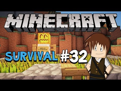 Minecraft Survival #32: Geraldo, o espantalho!