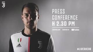 LIVE   La conferenza stampa di presentazione di Aaron Ramsey!