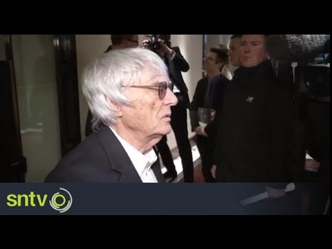 Ecclestone speaks ahead of bribery trial [AMBIENT]