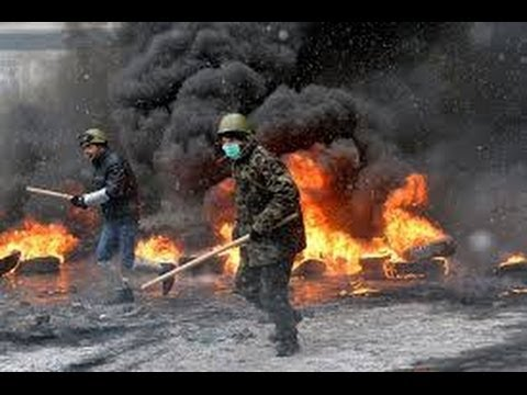 UKRAINE PROTESTS: - KIEV Brutal Violence Caught on VIDEO. Protesters KILLED in CLASHES