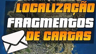 (PS3)GTA 5 COMPLETANDO 100% 50 FRAGMENTOS DE CARTA