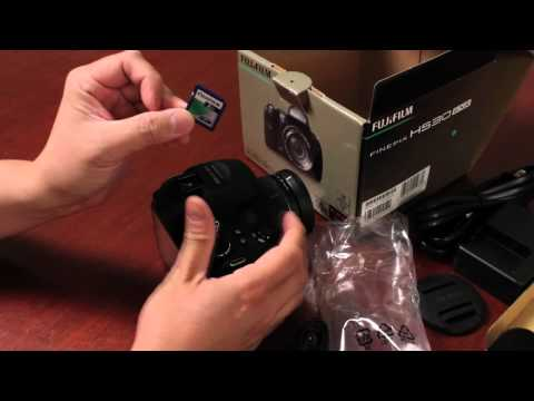 Fuji Guys - Fujifilm HS Series 2012 - HS25EXR HS30EXR Part 2/3 - Unboxing & Getting Started