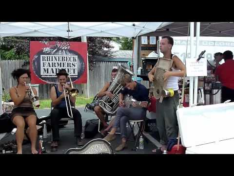 "Tuba Skinny - ""Egyptian Ella"" 8/5/12 Rhinebeck Farmers' Market  - MORE at DIGITALALEXA channel"
