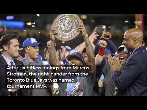 US Routs Puerto Rico 8-0 To Win World Baseball Classic