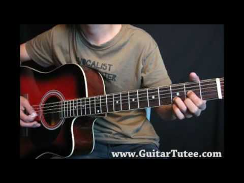 Guitar tutorial The Day You Said Goodnight Chords  Hale