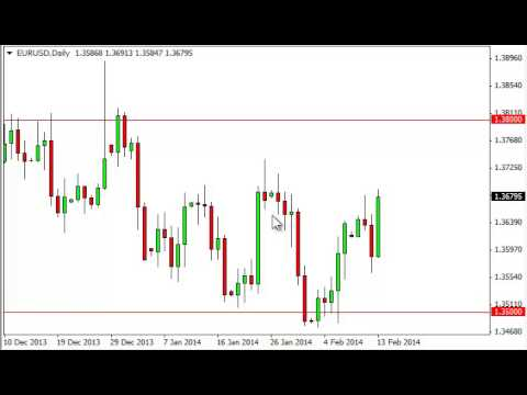 EUR/USD Technical Analysis for February 14, 2014 by FXEmpire.com