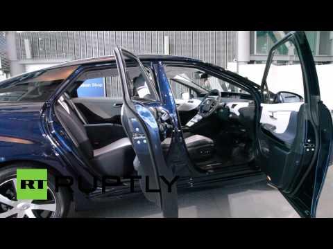 Toyota разработала первый в мире водородный автомобиль