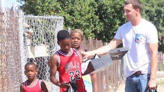 Giving Away Jordans In Compton