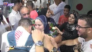 بالفيديو..بالزغاريت و الدموع تم استقبال البطل المغربي سفيان البقالي بعد عودته من لندن |