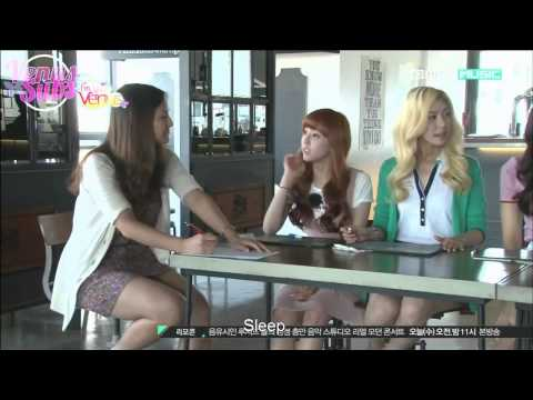 Jessica SNSD's similarity with Yoonjo Hello Venus LOL (like mother like daughter?)