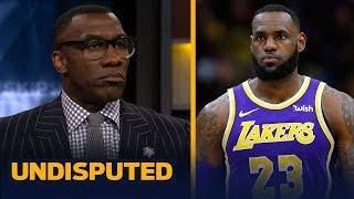 Shannon Sharpe doesn't buy rumors LeBron James will play PG next season | NBA | UNDISPUTED